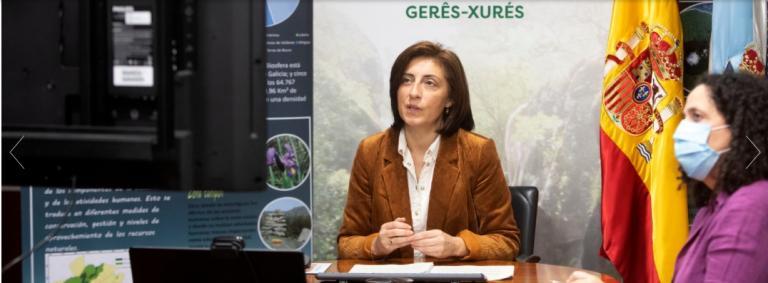 A conselleira de Medio Ambiente, Territorio e Vivenda, Ángeles Vázquez, clausurou o vernes o evento virtual co que se dá por pechado esta iniciativa