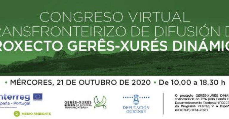O congreso virtual deixou patente o éxito da cooperación entre Galicia e Portugal ao redor do proxecto Gêres-Xurés Dinámico, e mostra varias propostas a nivel cultural, natural e turístico na súa contorna