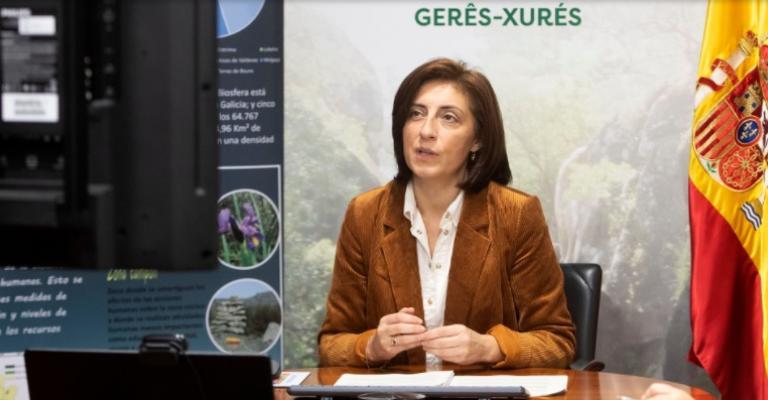 La conselleira de Medio Ambiente, Territorio y Vivienda, Ángeles Vázquez, clausuró esta mañana el acto virtual con el que se cierra esta iniciativa